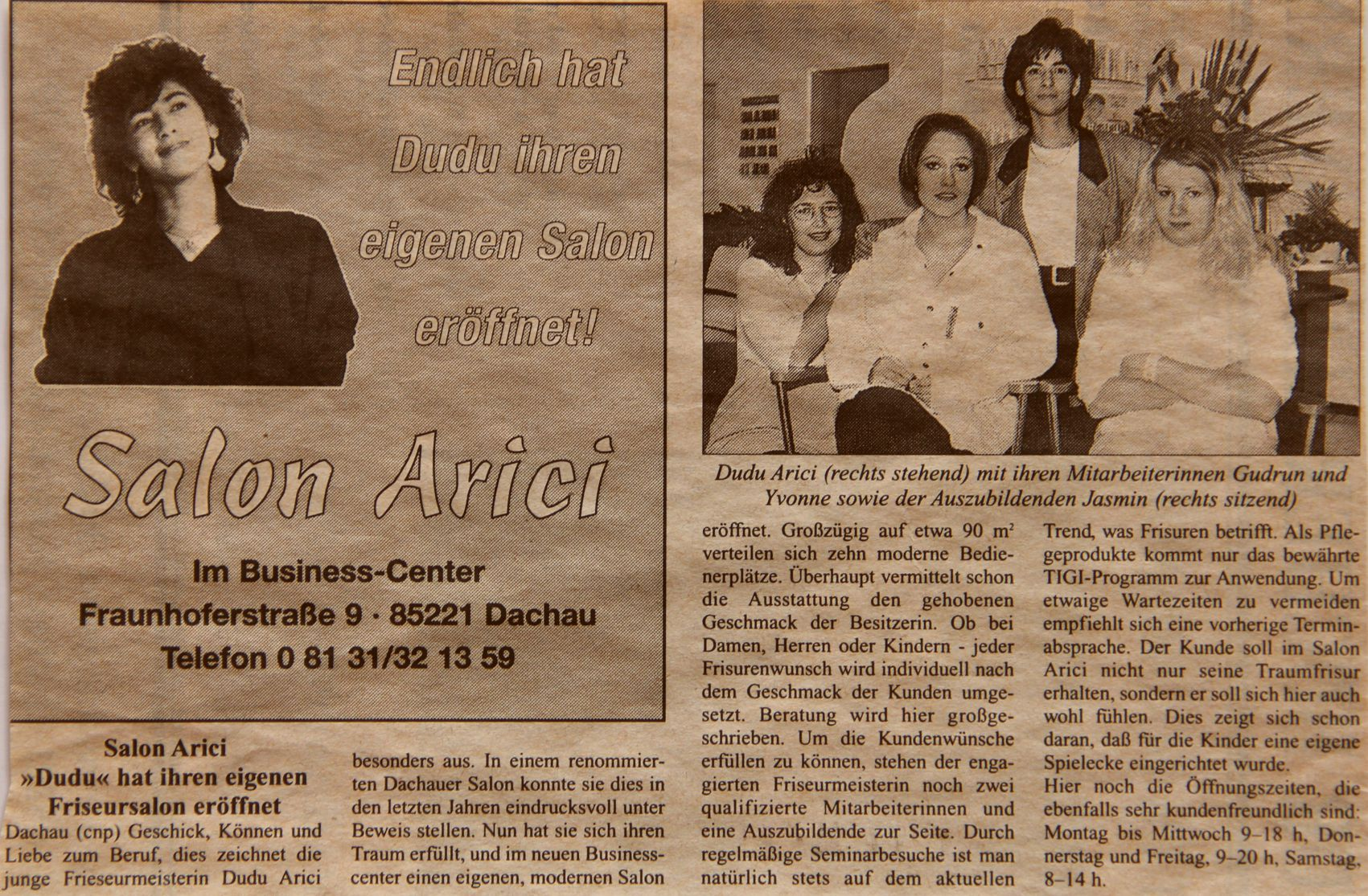 Salon Arici 1998